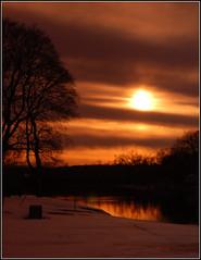 Silhuoette at sunset (John Rav) Tags: sunset d50 nikon all rights p reserved cokin frg p197 arrallrightsreservedjohnrav