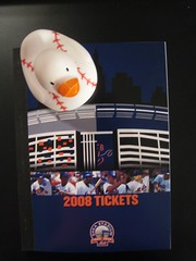 They're Here! Our Mets Tickets are Here!