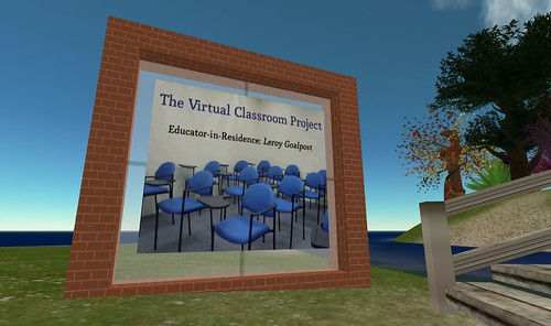 Virtual Classroom Project - Welcome Sign in jokaydia