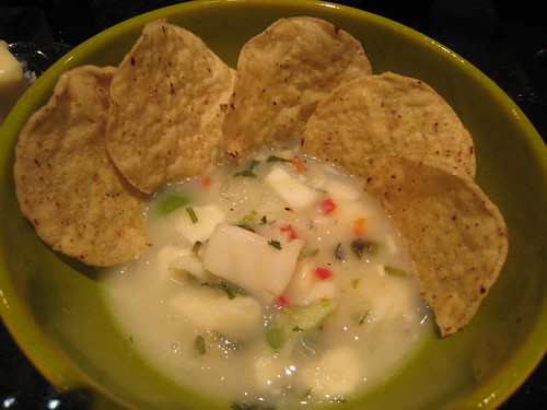Delicious Halibut Ceviche