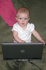 Looking at Dad's Computer