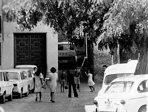 Plaza de Juego de Pelota, años 80
