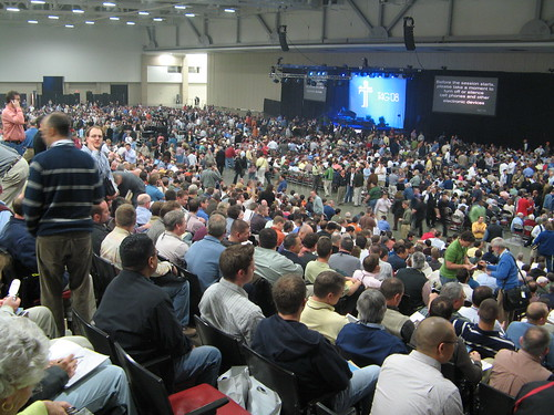 Inside the Conference Hall at T4G