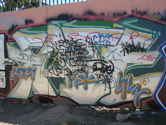 Fate Dissed MSK AWR SeventhLetter LosAngeles Graffiti Art (anarchosyn) Tags: art graffiti losangeles fate awr msk dissed seventhletter