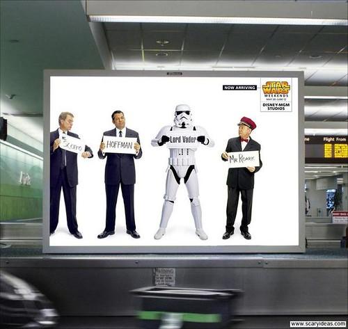 Star Wars dans la pub