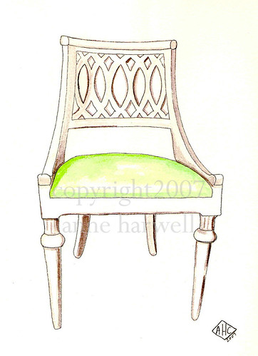 trellis back chair by anne harwell.