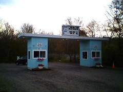 Mendon Twin Drive-In Entry Booth