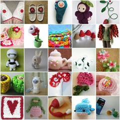 More May crochet favourites! (TM - the crocheteer!) Tags: pink flowers blue red white black bunny green bird art mushroom yellow coral fdsflickrtoys purple heart mosaic crochet yarn tm tulip grapes teapot whale mochi amigurumi bookmark wristwarmers lattes hyperbolic vds sugarpot towemy tapestrycrochet hyperboliccrochet snowywoodspirit tmcrocheteer