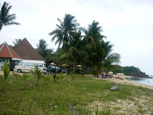 サムイ島-maenam beach