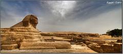 Sphinx (HDR) (Lars Tinner) Tags: africa sphinx egypt cairo egipto gypten hdr egipte gizeh kairo elcairo gyptenegypt 16x7 elcaire wwwtinnersg httpwwwtinnersg tinnersg
