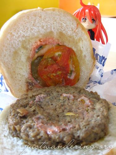 Tagaytay's Mushroom Burger