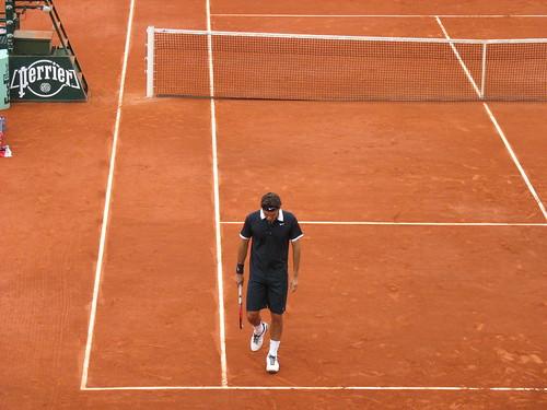 Roger Federer @Roland-Garros, 4 juin 2008