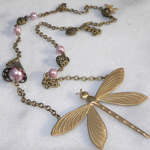Pink Pearl Roseate Necklace-350