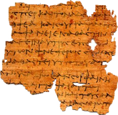 Ptolemaic letter on papyrus