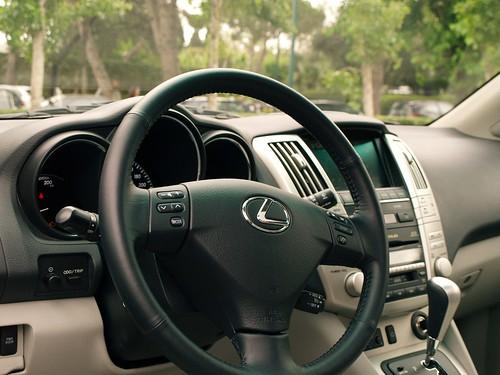 Lexus RX 400h - Interior