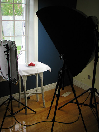 "Setup shot for ""Yummy!"""