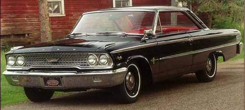 US Ford Galaxy 1974