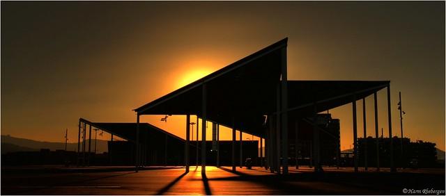 Sunset @ Forum Diagonal Mar (HDR)