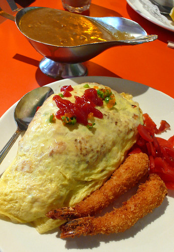 mums curry omurice
