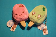 Ice-lolly (Verokitschy) Tags: cute ice smile dessert japanese sweet cream plush purse pouch icecream kawaii plushie sweets popsicle icelolly foodwithfaces janetstore