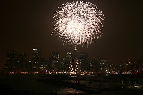 4th July Fireworks over Manhattan