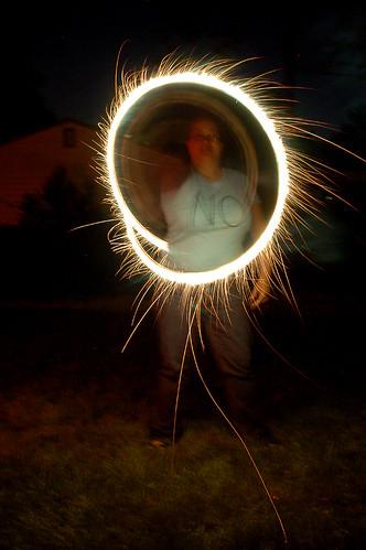 Sparkler Circle
