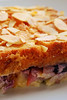 brioche and blueberry pudding©