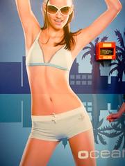 8:49 pm, Last Tuesday, Vieshow Cinemas 2F (yusheng) Tags: topf25 advertising taiwan bikini fauxpas taipei wtf topv9999 thecryinggame interestingness396 i500  vieshow