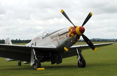Flying Legends (Flight Fantastic) Tags: flying aircraft legends duxford kit mustang leonard carsons capt airfield p51k