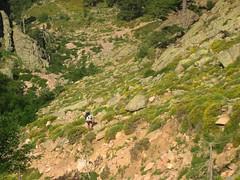 Montée au col de Guagnerola