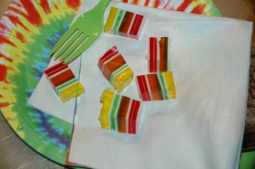 Tie-Dye Jello