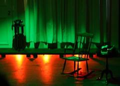 Alone (Akeru-) Tags: tree luz arbol teatro mujer chair arte pics silla sillon feliz mundo obra casette hombre insecto exposición fotografias audifono pelicano inscect sanhueza shelo