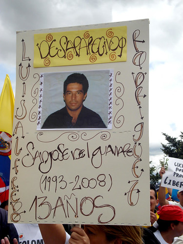 marcha-avvillavicencio-luisalfredorodriguez-desaparecido-guaviare