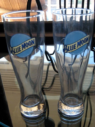 Blue Moon glasses