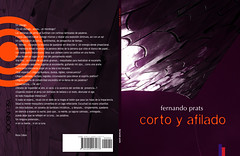 Corto y afilado spread (poetry book)