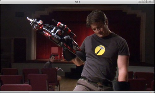 Nathan Fillion as Captain Hammer