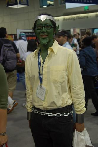 Comic Con 2008: Skrull Power Man