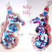 Seahorse Focal for Summertime Friends by Holly's Folly ~ Glass / JulyABS
