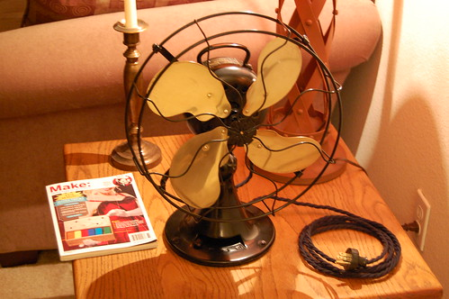 Emerson Antique Desk Fan
