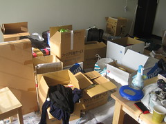 The new place is a mess