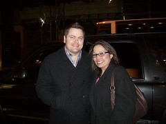 Nick Offerman (angiespics22) Tags: newyorkcity broadway meganmullally youngfrankenstein nickofferman stagedooring