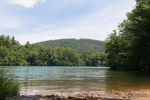 Lake Waters Of Fort Mountain State Park