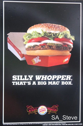 Whopper Demotivational Poster