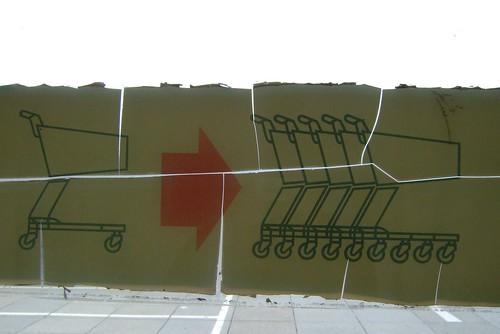 Einkaufswagen - trolleys