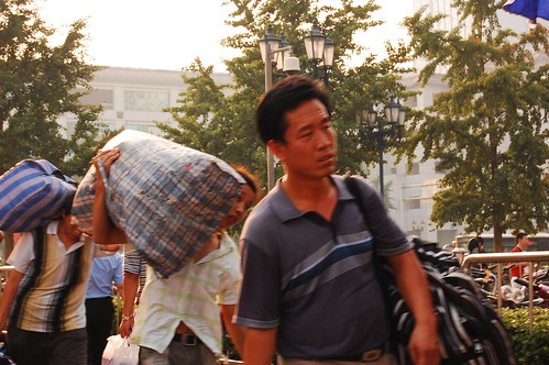Emigrantes a Beijing