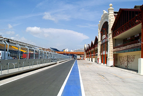 Formula1 Valencia Harbout