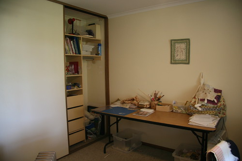 The new stitching room