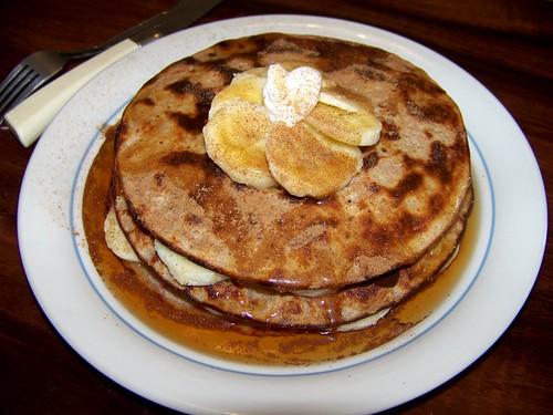 Decadent PB & Jelly Pancake Tower