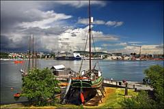 oslo (heavenuphere) Tags: oslo museum ship view polar bygdy noorwegen fram frammuseet morway