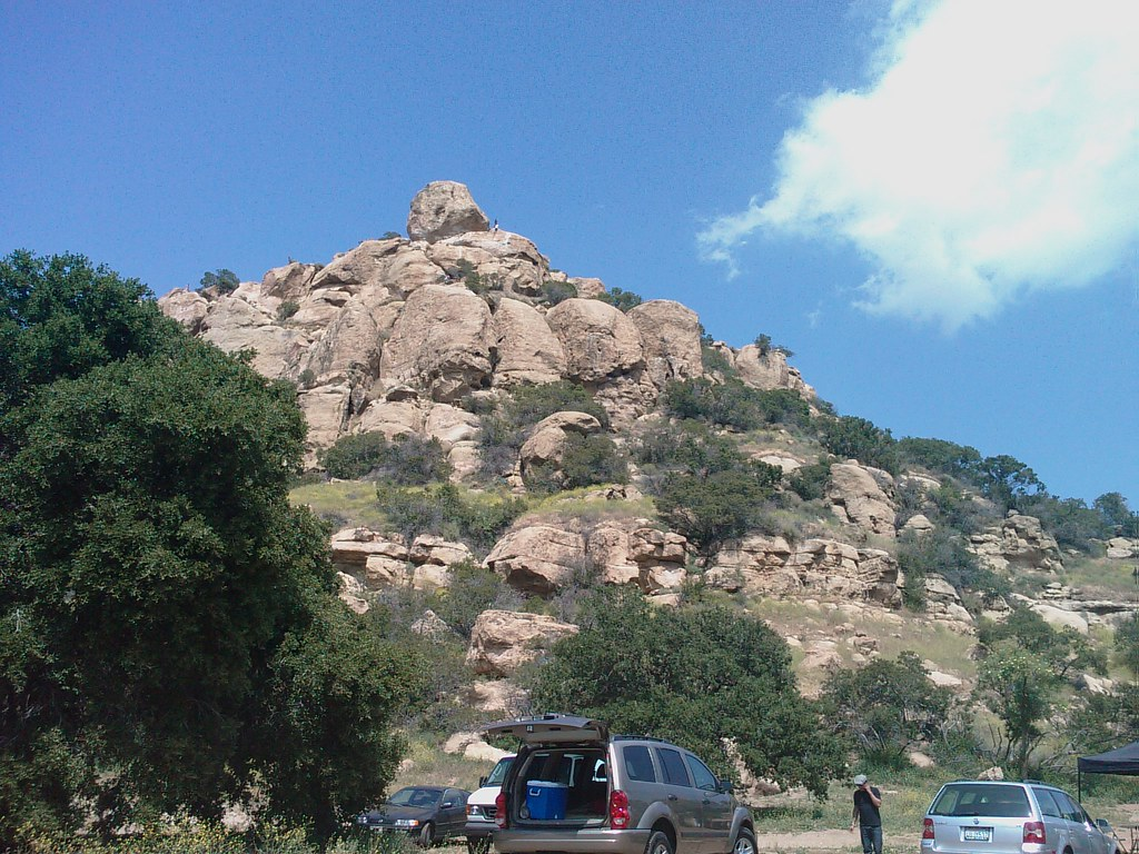Stoney point rocks from the entrance